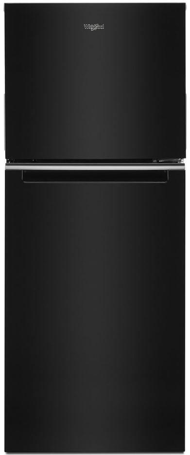 Whirlpool® 11.6 Cu. Ft. Black Counter Depth Top Freezer Refrigerator-WRT112CZJB