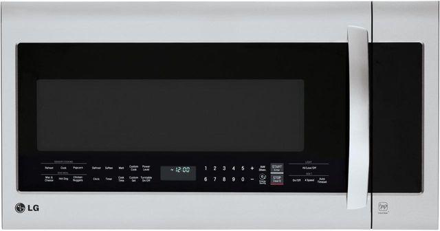 LG 2.0 Cu. Ft. Stainless Steel Over The Range Microwave Oven-LMVM2033ST