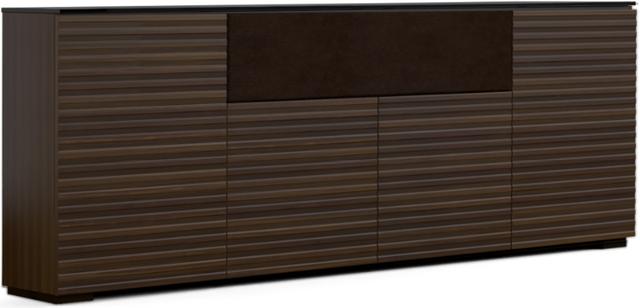 Salamander Designs® Chameleon Zurich Low Profile 345 Opium Brown Speaker Integrated Cabinet-C1/ZU345/OB
