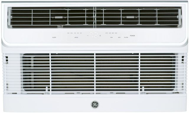GE® 10,000 BTU's Soft Gray Thru the Wall A/C-AJEQ10DWH