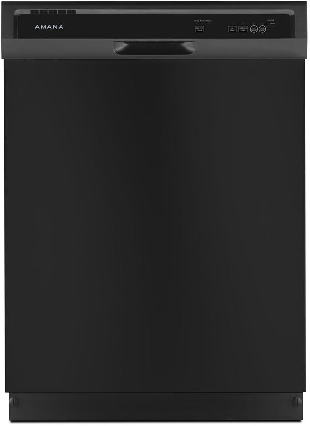 "Amana® 24"" Black Built In Dishwasher-ADB1400AGB"