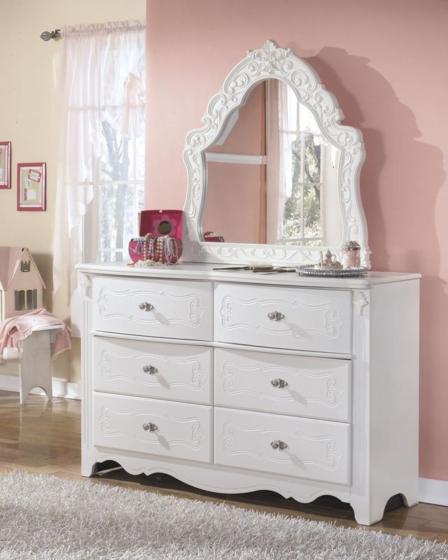 Signature Design by Ashley® Exquisite White Youth Bedroom Mirror-B188-37