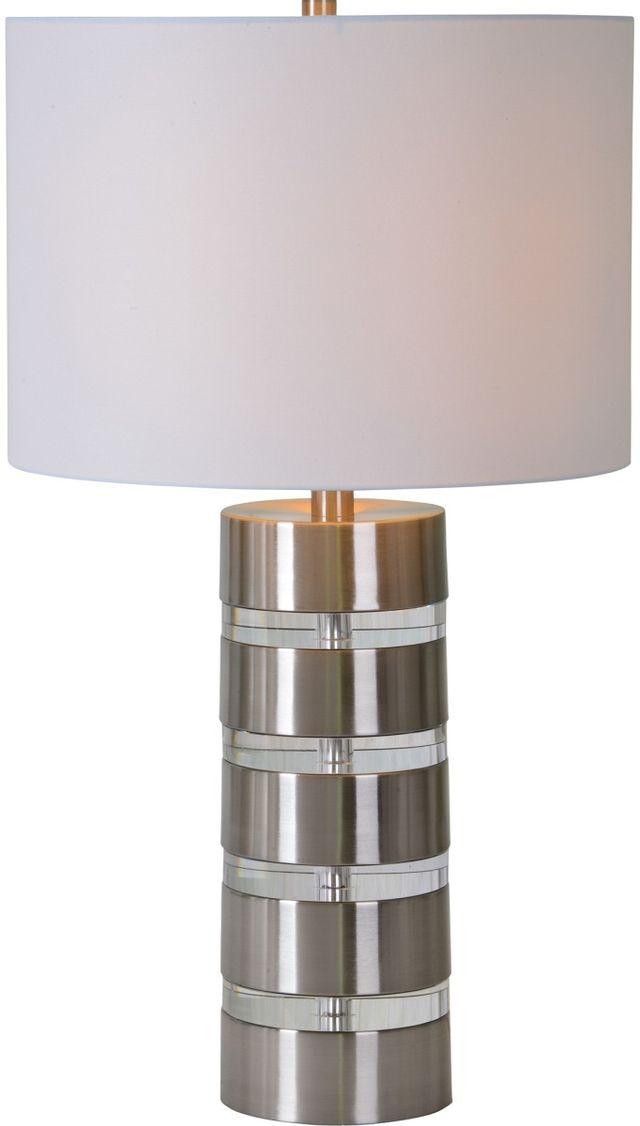 Renwil® Solomon Brushed Nickel Table Lamp-LPT933