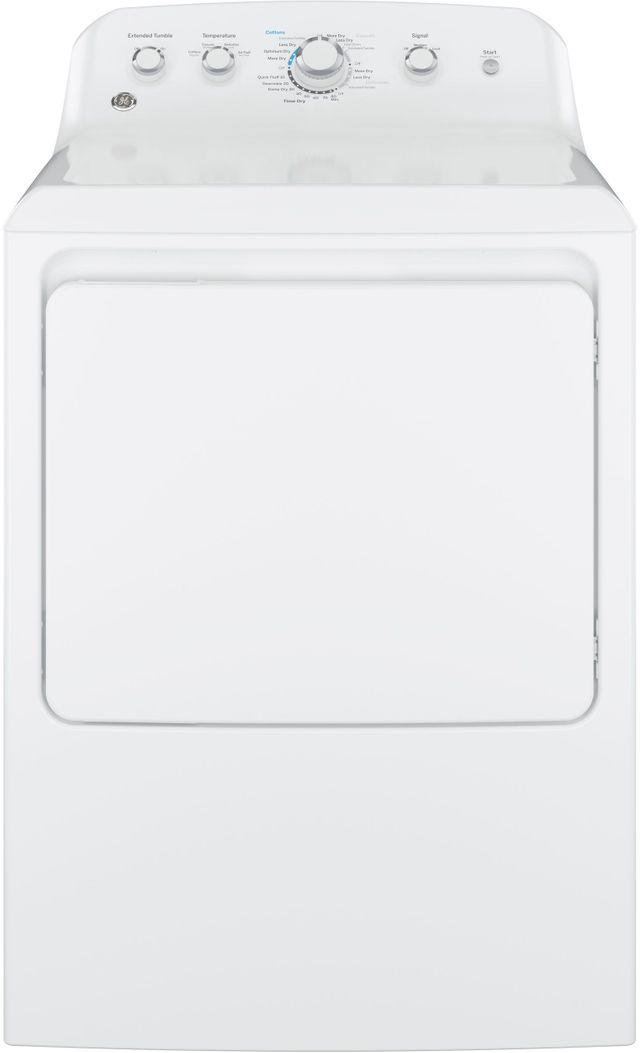 GE® Electric Dryer-White-GTD42EASJWW