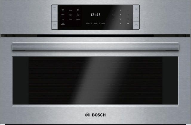 """Bosch Benchmark® Series 29.75"""" Stainless Steel Steam Convection Oven-HSLP451UC"""