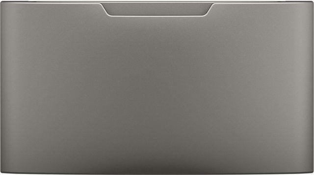 """GE® 27.9"""" Satin Nickel Laundry Pedestal-GFP1528PNSN"""