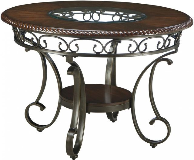 Signature Design by Ashley® Glambrey Brown Round Dining Room Table-D329-15