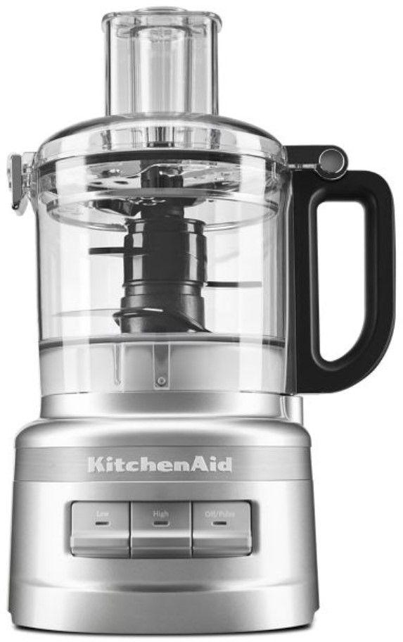 KitchenAid® 7 Cup Contour Silver Food Processor Plus-KFP0719CU
