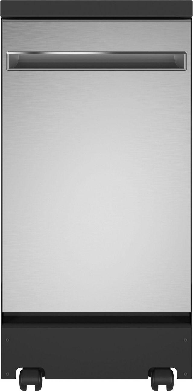 "GE® 18"" Stainless Steel Portable Dishwasher-GPT145SSLSS"