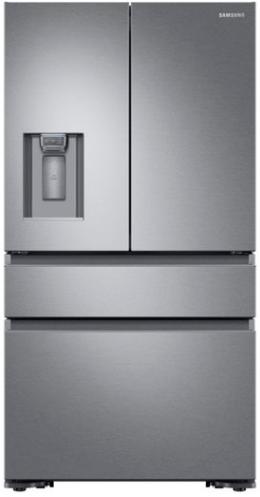 Samsung 23 Cu. Ft. Counter Depth French Door Refrigerator-Stainless Steel-RF23M8070SR