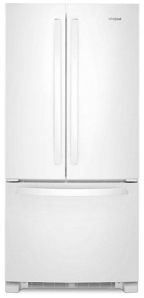 Whirlpool® 22 Cu. Ft. White French Door Refrigerator-WRF532SNHW