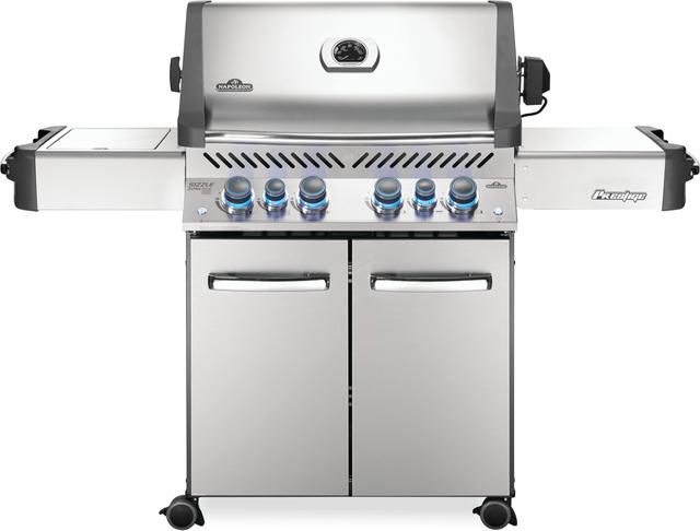 BBQ autoportant au propane Napoleon Prestige 500 RSIB de 66,25 po - Acier inoxydable-P500RSIBPSS-3