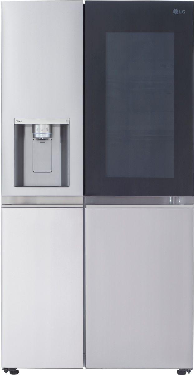 LG 27.1 Cu. Ft. PrintProof™ Stainless Steel Side-by-Side Refrigerator-LRSOS2706S