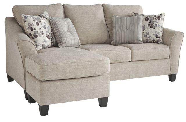 Benchcraft® Abney Driftwood Sofa Chaise Queen Sleeper-4970168