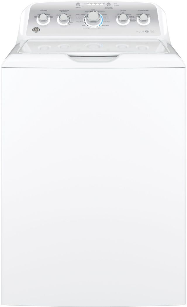 GE® Top Load Washer-White-GTW490ACJWS