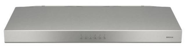 Hotte de cuisinière sous-armoire Broan® de 30 po - Acier inoxydable-BCSM130SS