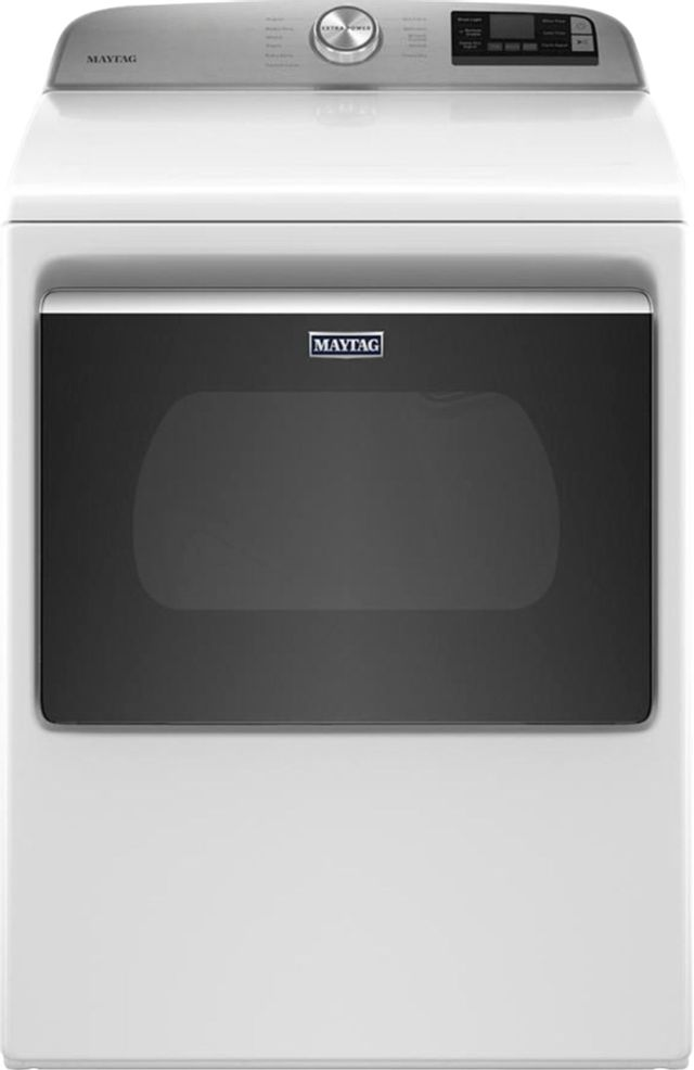 Maytag® 7.4 Cu. Ft. White Front Load Electric Dryer-MED6230HW