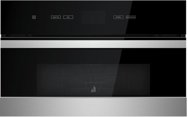 JennAir® NOIR™ 1.4 Cu. Ft. Floating Glass Black Built In Microwave-JMC2430IM