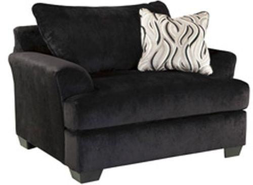 Signature Design by Ashley® Heflin Ebony Chair and a Half-4720023