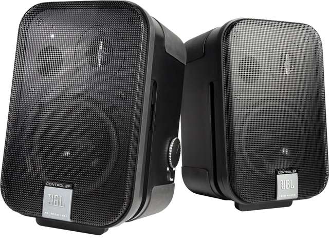 JBL® Control 2P Stereo Pair Compact Powered Reference Studio Monitor-C2PS