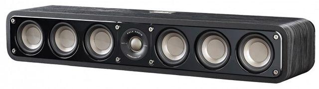 Polk Audio® Signature Series S35 Washed Black Walnut Home Theater Slim Center Channel Speaker-AM9535