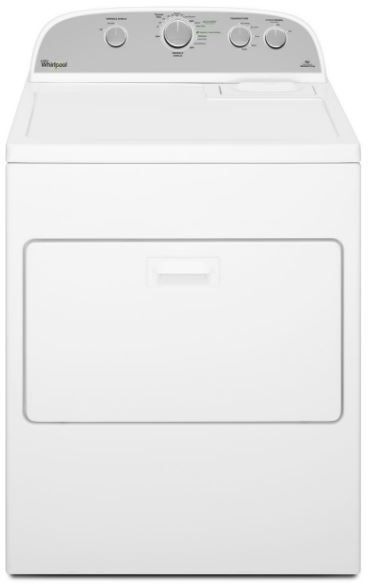 Whirlpool® 7.0 cu. ft. Cabrio® Electric Dryer-White-WED5000DW