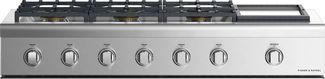 """Fisher & Paykel Professional 48"""" Gas Rangetop-Stainless Steel-CPV2-486GDL N-CPV2-486GDL N"""