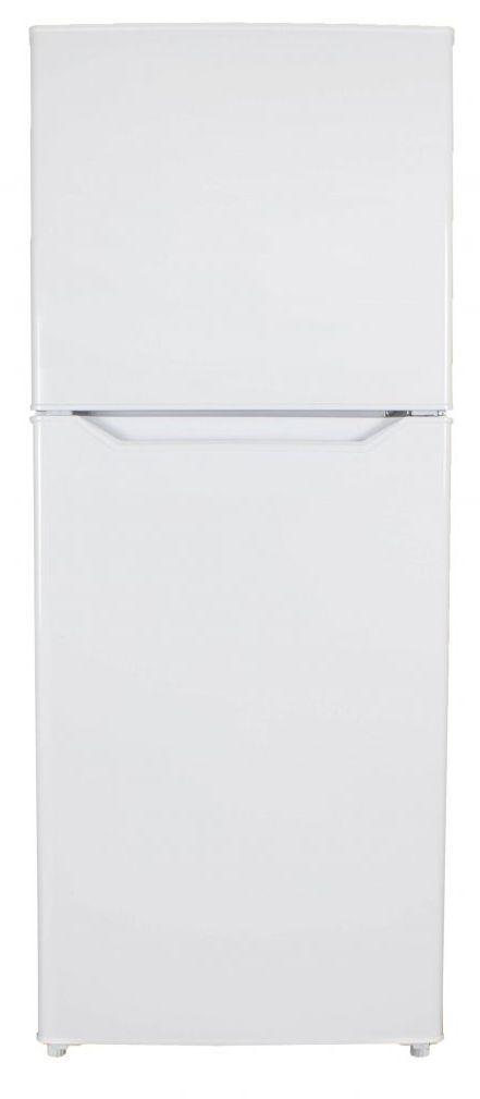 Danby® 10.1 Cu. Ft. White Apartment Size Top Freezer Refrigerator-DFF101B2WDB