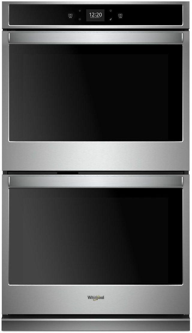 """Whirlpool® 27"""" Electric Double Oven Built In-Stainless Steel-WOD51EC7HS"""