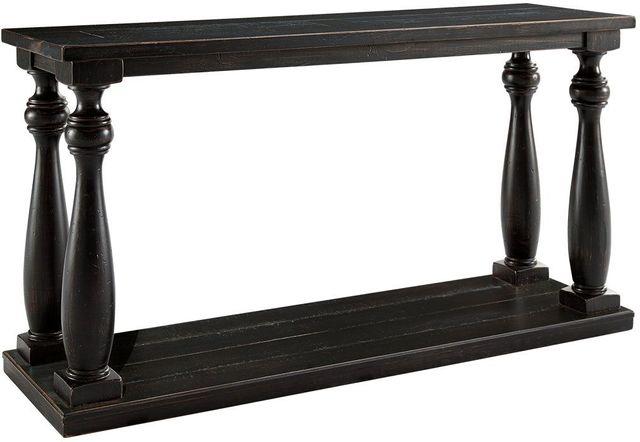 Signature Design by Ashley® Mallacar Black Sofa Table-T880-4