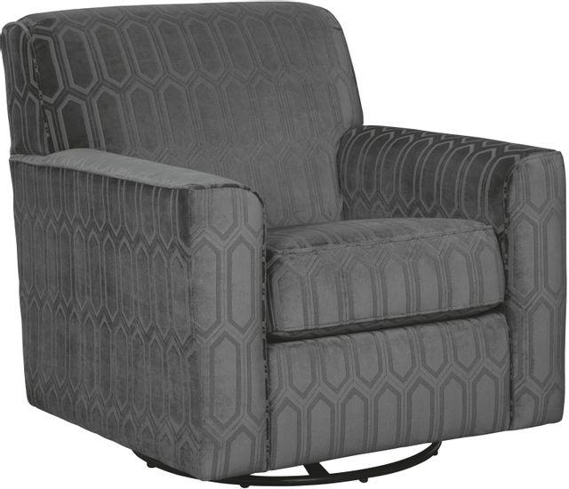 Chaise d'appoint Zarina en tissu gris Signature Design by Ashley®-9770442
