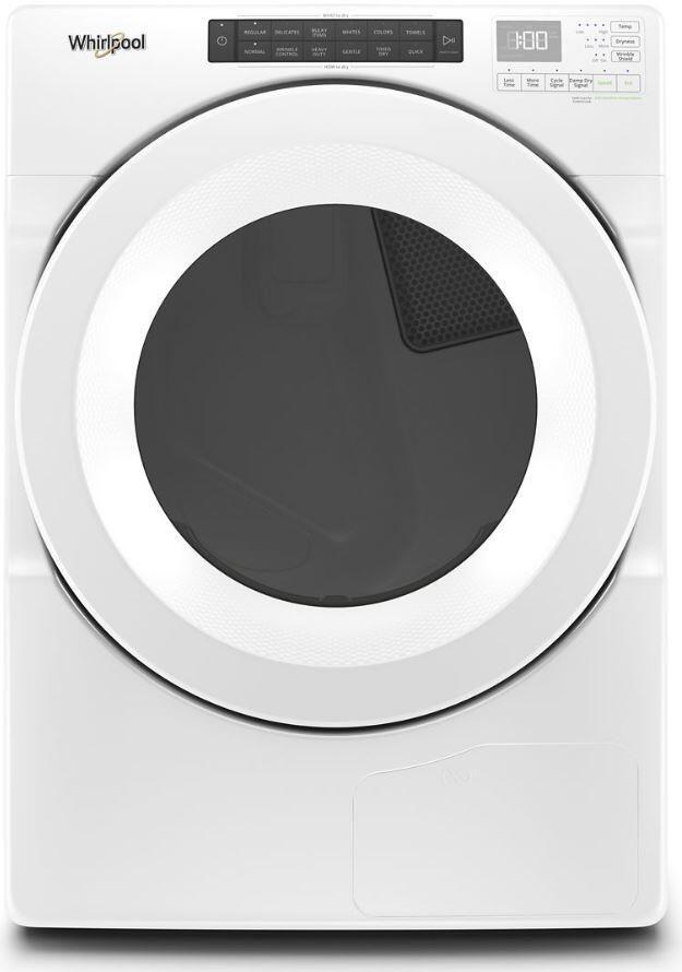 Sécheuse électrique Whirlpool® de 7,4 pi³ - Blanc-YWHD560CHW