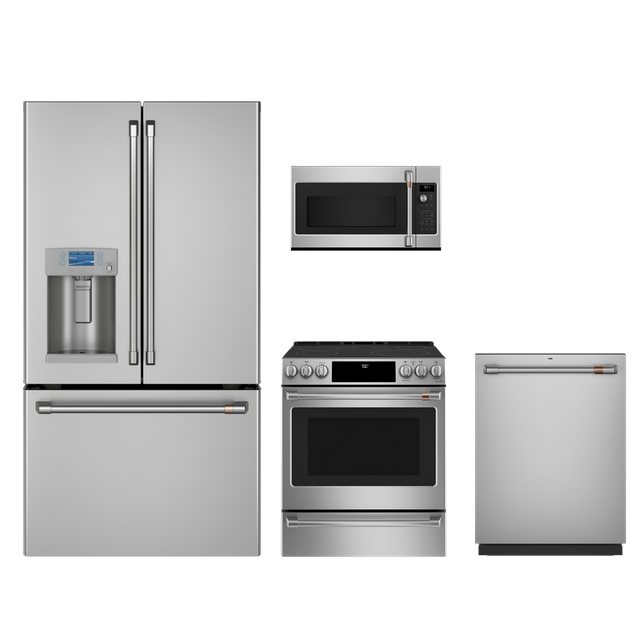 Café™ 4 Piece Kitchen Package-Stainless Steel-CAKITCES700P2MS1