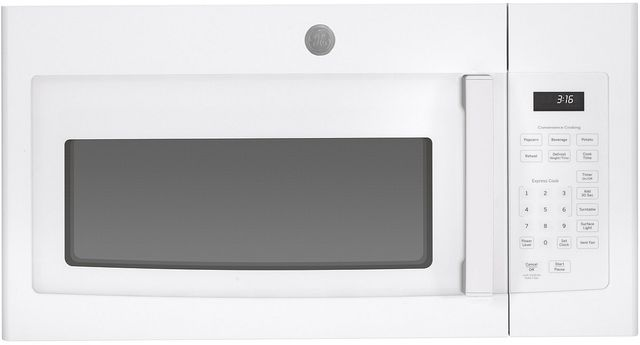 GE® Over The Range Microwave Oven-White-JVM3160DFWW