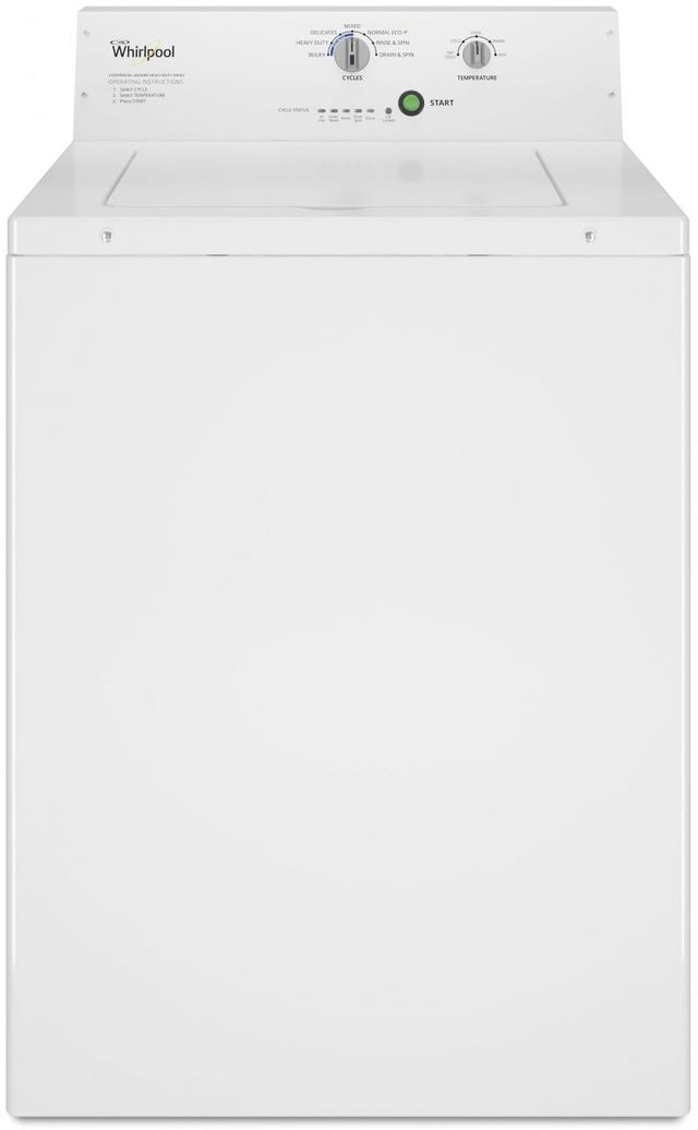 Whirlpool® Commercial 3.27 Cu. Ft. White Top Load Washer-CAE2795FQ