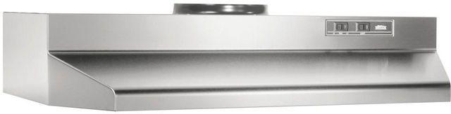 """Broan® 42000 Series 36"""" Stainless Steel Under Cabinet Range Hood-423604"""