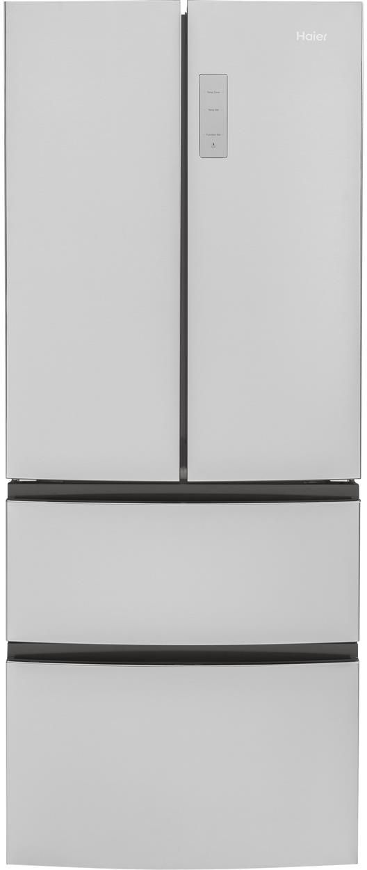 Haier 14.98 Cu. Ft. Stainless Steel French Door Refrigerator-HRF15N3AGS