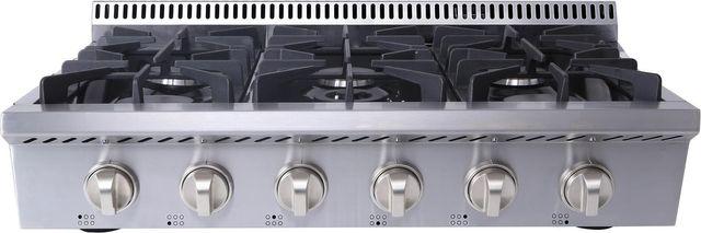 "Thor Kitchen® Professional 36"" Stainless Steel Gas Rangetop-HRT3618U"