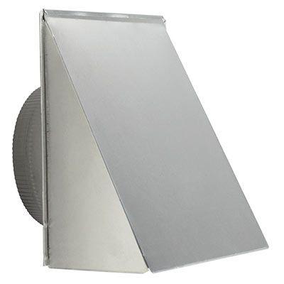 """Broan® 10"""" Aluminum Round Wall Cap-610FA"""