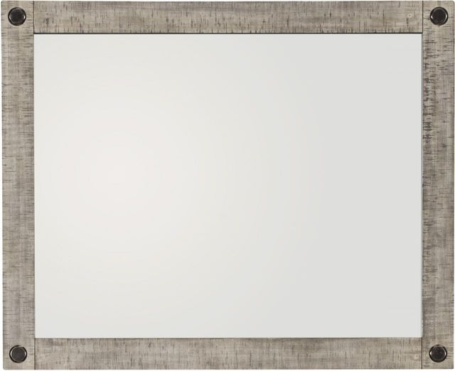 Benchcraft®  Naydell Rustic Gray Dresser Mirror-B639-36