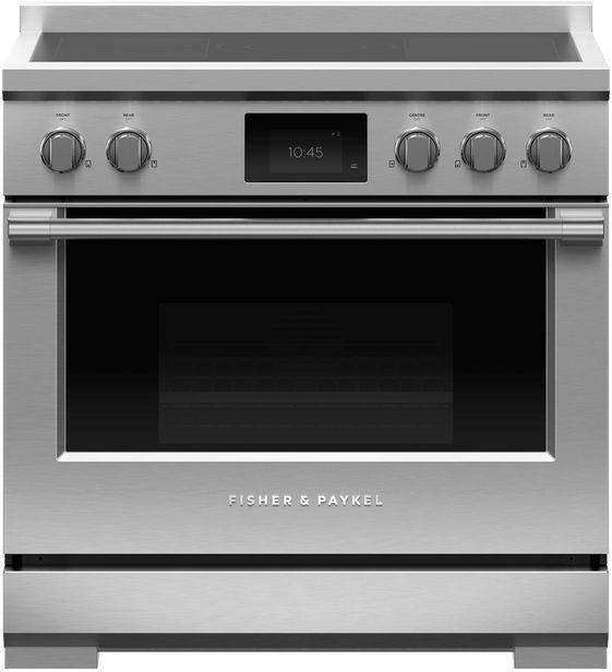 Cuisinière électrique autoportante à induction de 4,8 pi³ Fisher Paykel® de 36 po - Acier inoxydable-RIV3-365