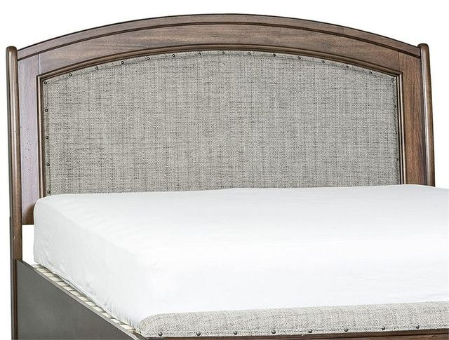 Liberty Furniture Avalon III Pebble Brown Queen Upholstered Headboard-705-BR23HU