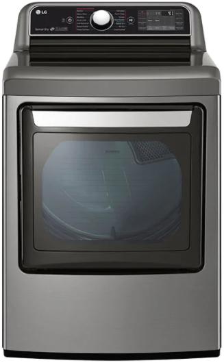 Sécheuse électrique LG® de 7,3 pi³ - Acier inoxydable graphite-DLEX7900VE