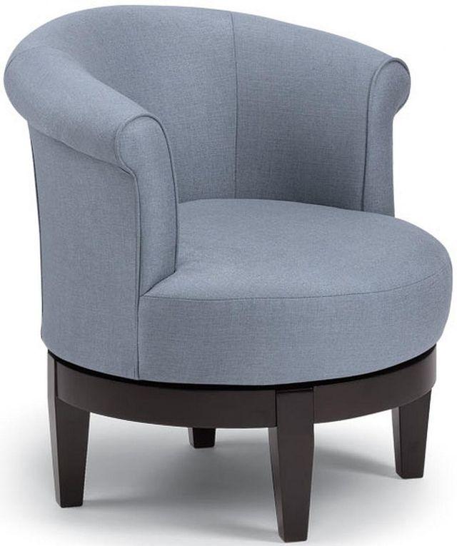 Best Home Furnishings Attica Espresso Swivel Chair-2958E