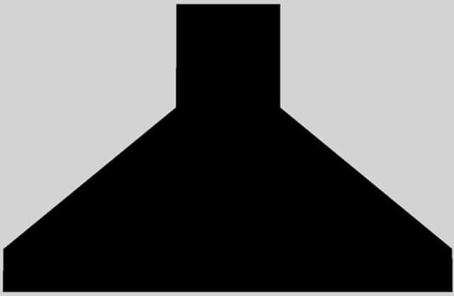 """Vent-A-Hood® 42"""" Euro-Style Wall Mounted Range Hood-Black-EPH18-242 BL"""