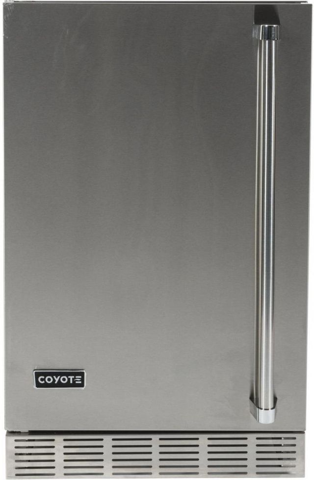 Coyote 4.1 Cu. Ft. Outdoor Refrigerator-Stainless Steel-CBIR-L