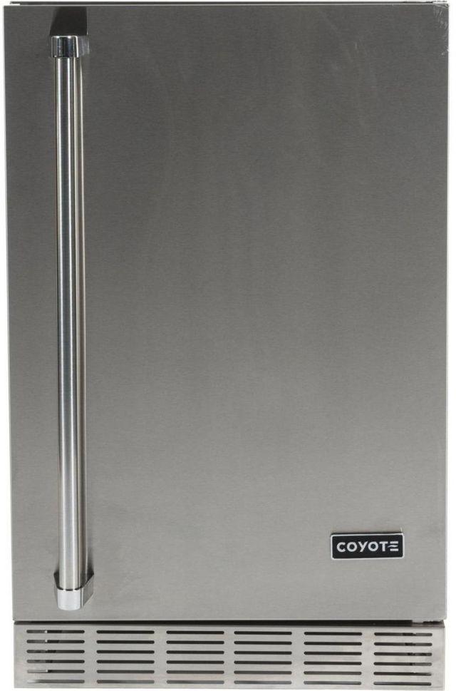 Coyote 4.1 Cu. Ft. Outdoor Refrigerator-Stainless Steel-CBIR-R