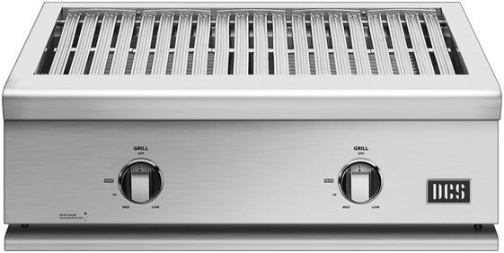 """DCS Liberty 30"""" Brushed Stainless Steel Built In Grill-BFGC-30G-L"""