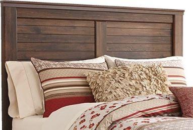 Signature Design by Ashley® Quinden Dark Brown Queen Panel Headboard-B246-57