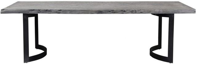 Moe's Home Collections Bent Weathered Grey Small Dining Table-VE-1001-29